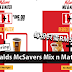 McDonalds McSavers Mix n Match优惠!每份只需RM5.90!