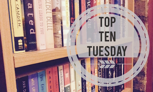 TOP TEN TUESDAY - Top Ten 2014 Releases I Meant To Read But Didn't Get To