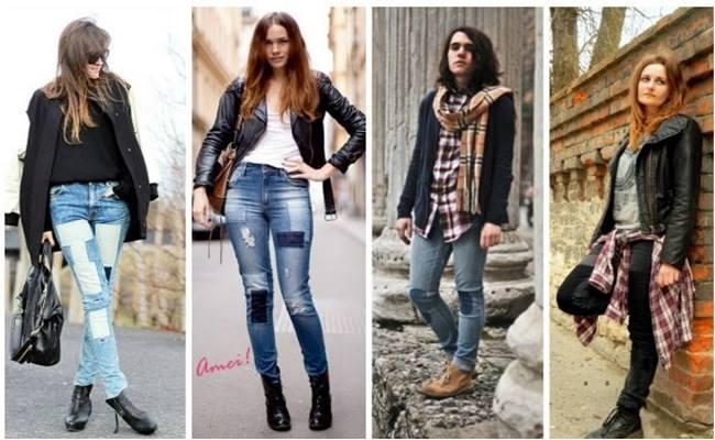 PATCHWORK em Calça Jeans Modelos 2