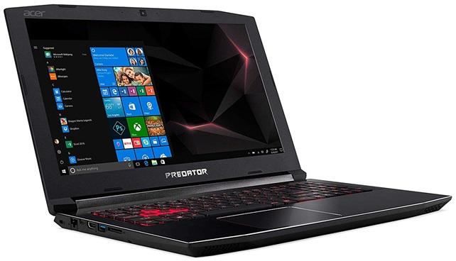 Acer Predator Helios 300 PH315-51-7581: análisis