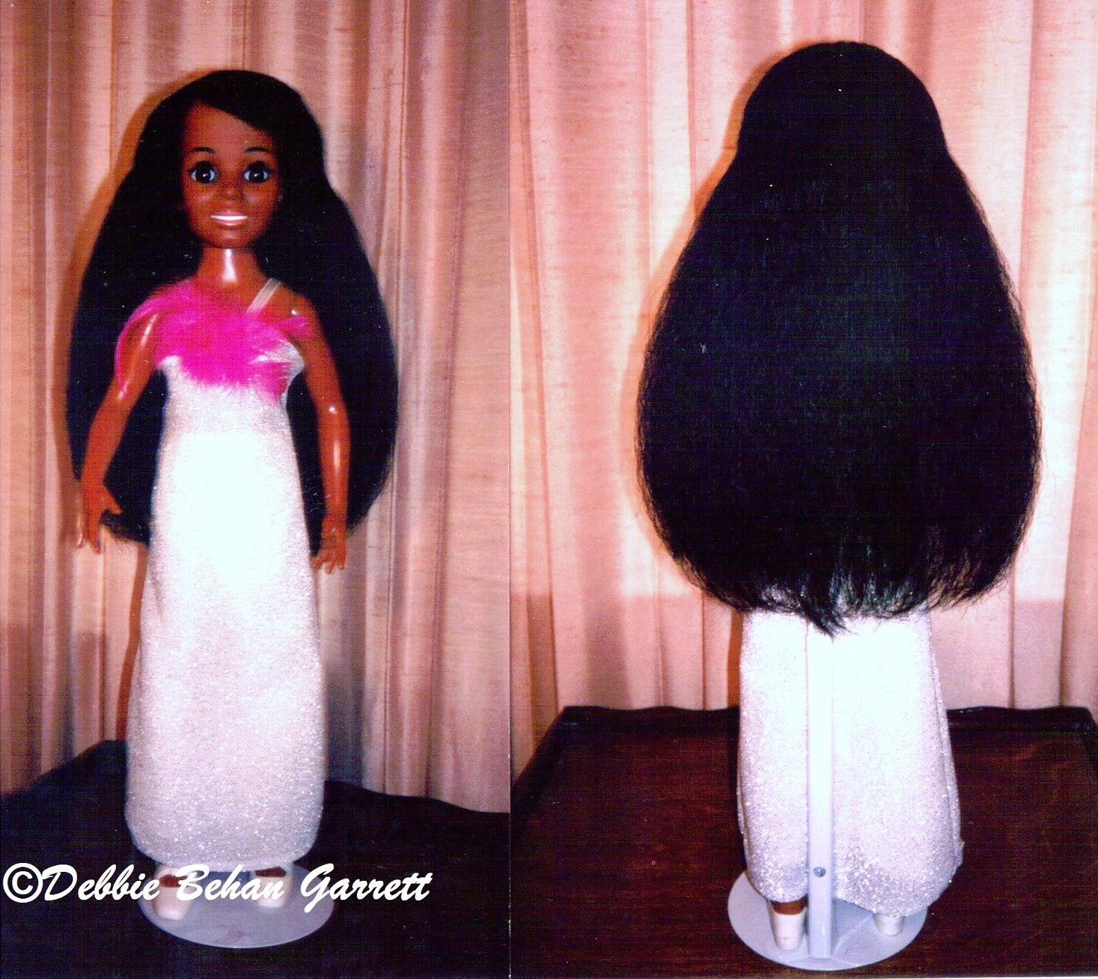 Black Doll Collecting Love Child