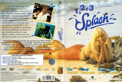 Cover, dvd, caratula: 1,2,3...Splash | 1984 | Splash