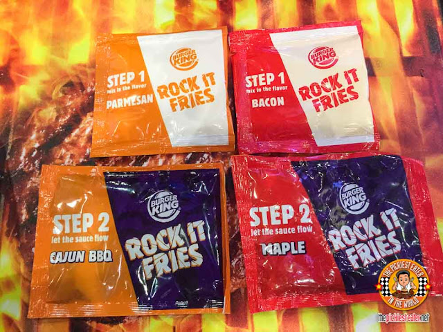 Burger King Rocket Fries Sauces