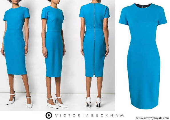Meghan Markle wore Victoria Beckham pencil midi dress