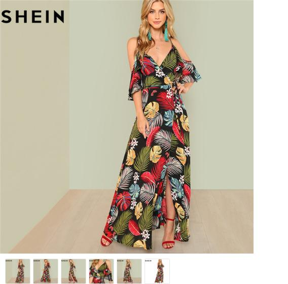 That Dress Shop - Juniors Long Sleeve Maxi Dress - Summer Clothes Clearance Sale Uk