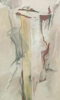 37 - Passage étroit -  © Edith Smets - 110/180 - huile et pastel sur toile