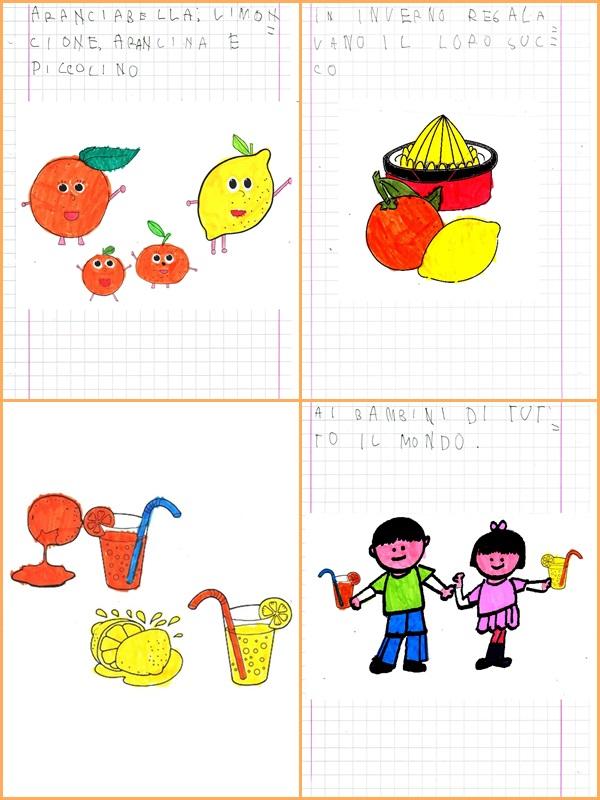immagini agrumi da colorare studiamando liberamente un ...
