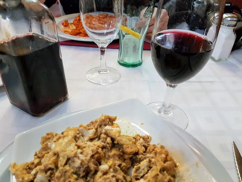 商業午餐,紅酒滿滿啊