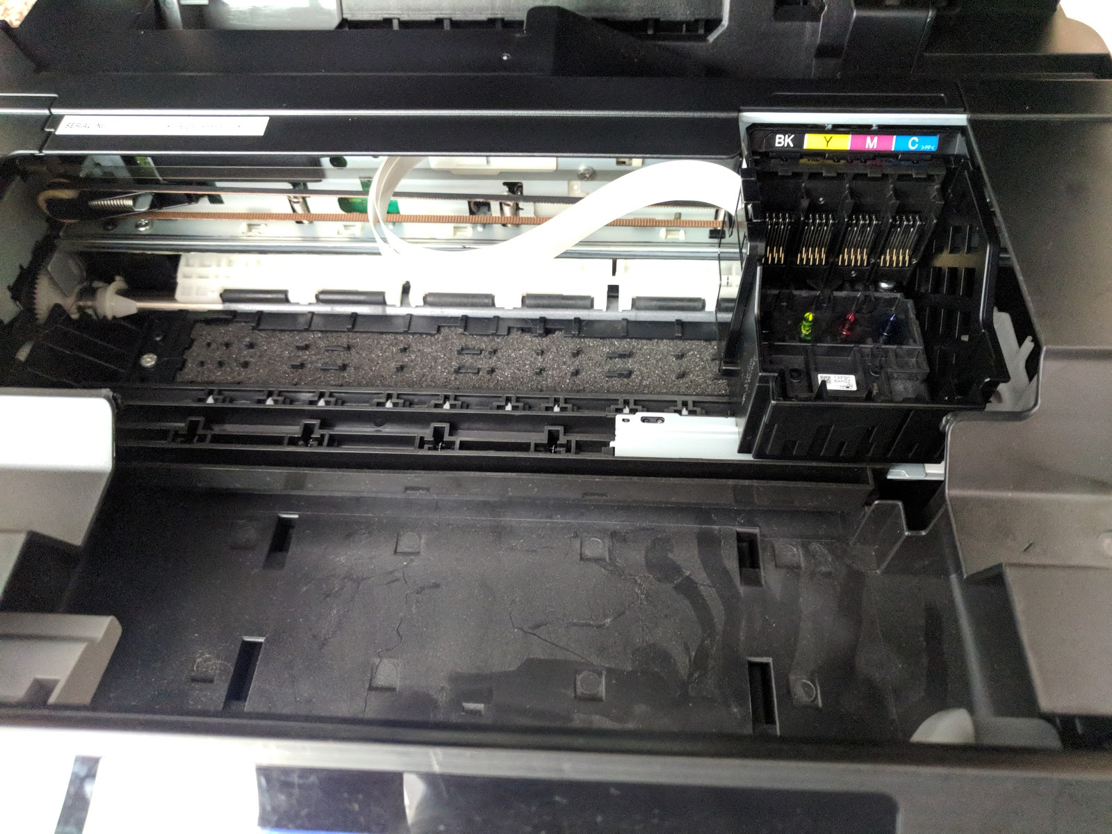 Solucionar error de absolvedor de tinta lleno impresoras for Donde reparar mi roomba