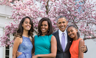 obamas, obama family