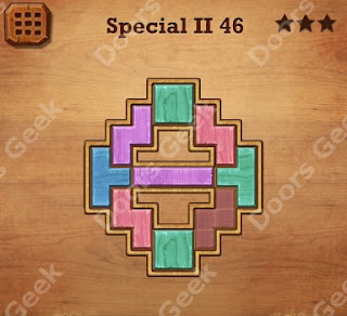 Cheats, Solutions, Walkthrough for Wood Block Puzzle Special II Level 46
