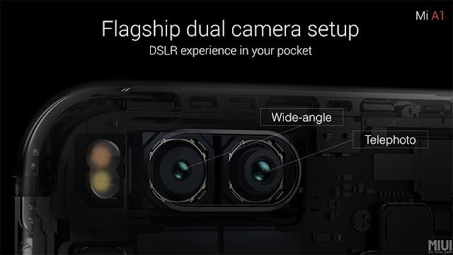 Full Spesifikasi Kamera Xiaomi Mi A1
