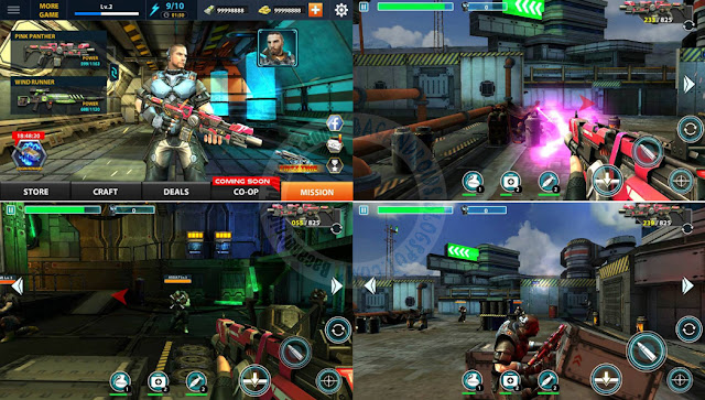 game Strike Back Elite Force Apk Full terbaru For Android + MOD
