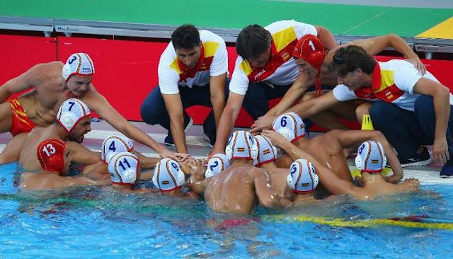 Loterías patrocinará el waterpolo español