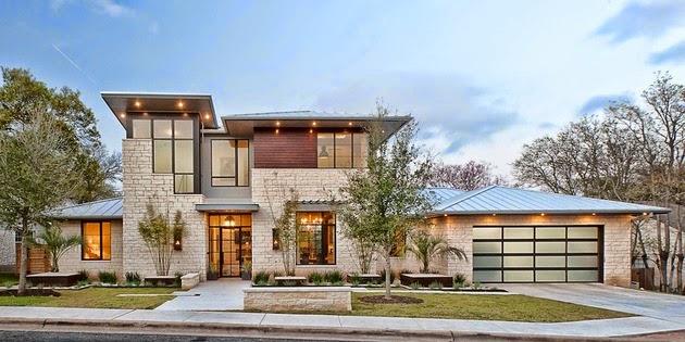 Rumah Urban Elegan 2 Lantai Dengan Interior Yang Mewah Dan 1