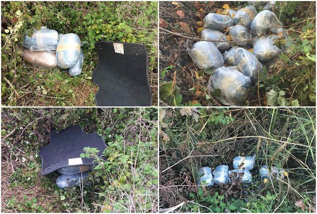 Συνελήφθησαν δύο άτομα που είχαν κρυμμένα 55 κιλά κάνναβης (+ΦΩΤΟ)
