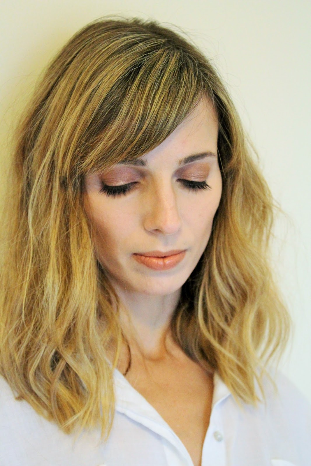 Nude makeup look featuring Rimmel, Maybelline and Urban Decay