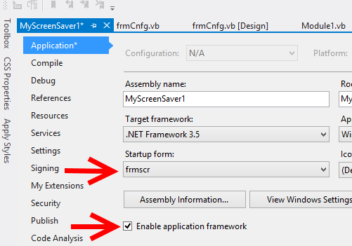 Preempted: Screen Saver Preview Window /p SUCCESS – Visual Basic