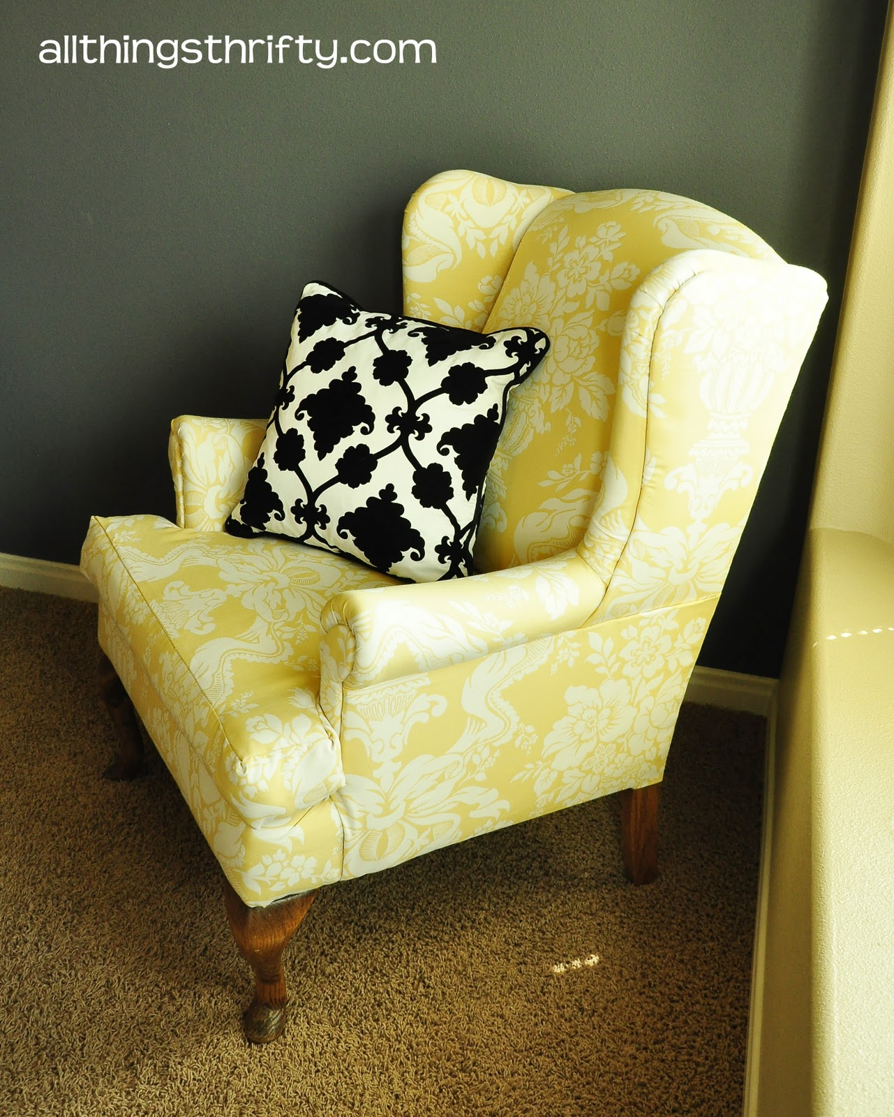 Upholstering a Wing Back Chair Upholstery Tips