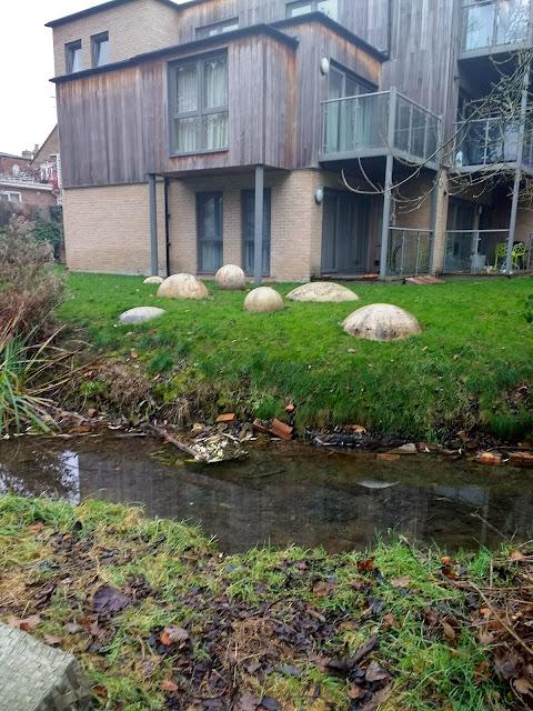 Giant's Grave, Cherry Hinton, Cambridge, Chalk Spring, Cherry Hinton Brook