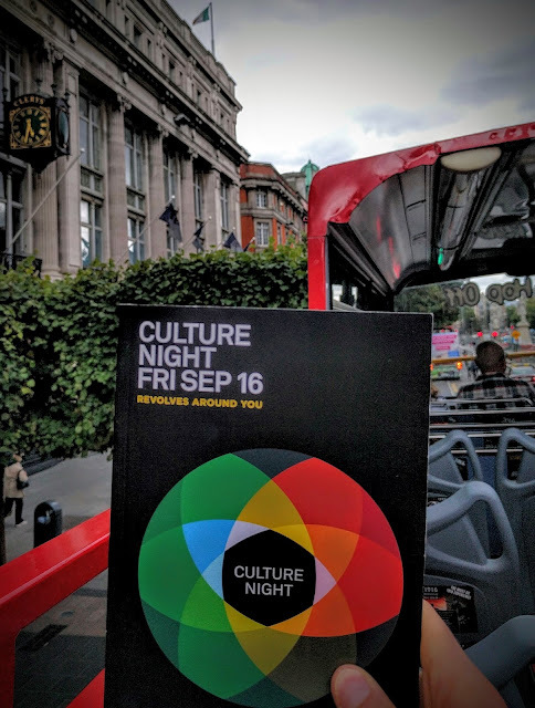 Dublin Culture Night Brouchure