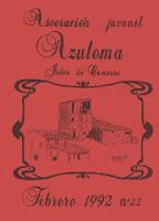 """""""Azulema"""" Revista de la Asociación Juvenil Azulema de Jalón de Cameros."""