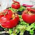 Tomates rellenos de revuelto de setas (receta de Karlos Arguiñano)