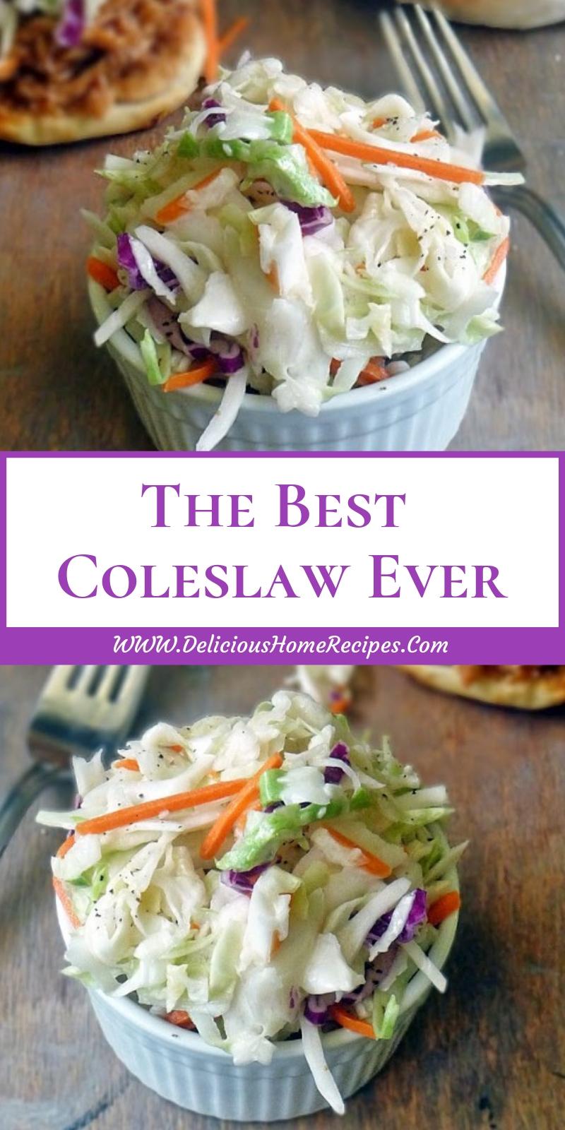 The Best Coleslaw Ever