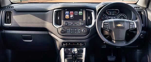 2017 Chevrolet Trailblazer Front Cabin