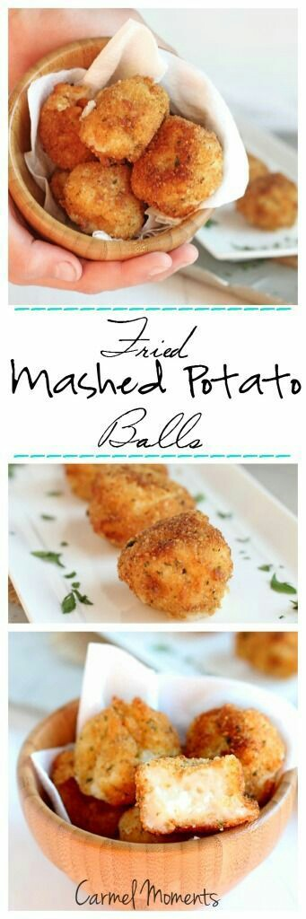 Fried Mashed Potato Balls. Foto: carmelmoments.com