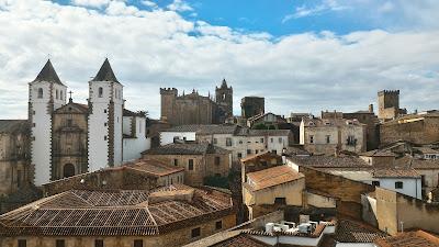 Patrimonio de la Humanidad en Europa y América del Norte. España. Casco antiguo de Cáceres.