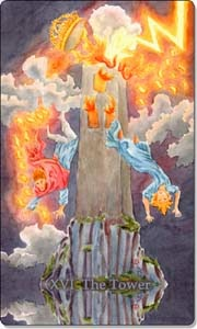 the tower aquatic tarot