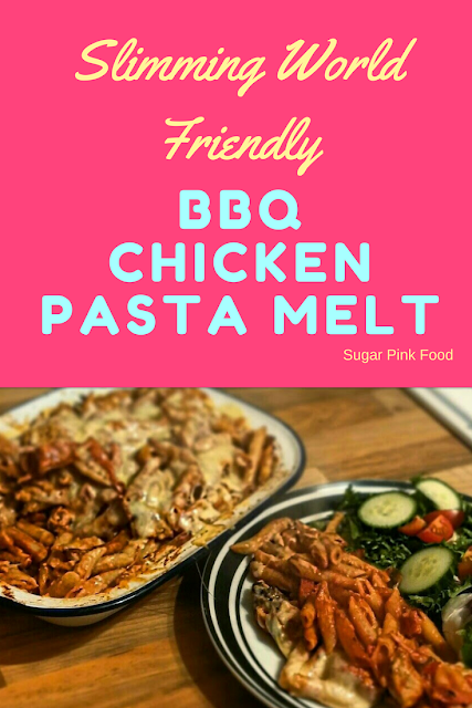 BBQ Chicken Pasta Melt  slimming world recipe