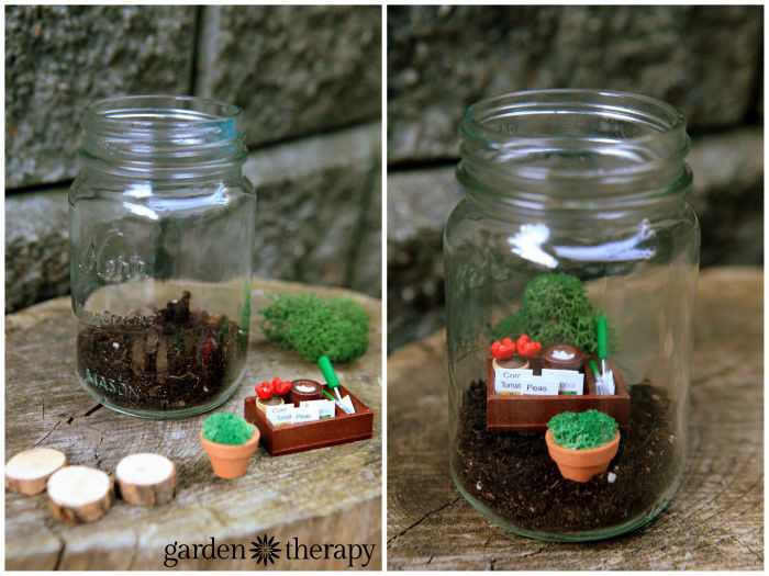 how to create a miniature fairy garden