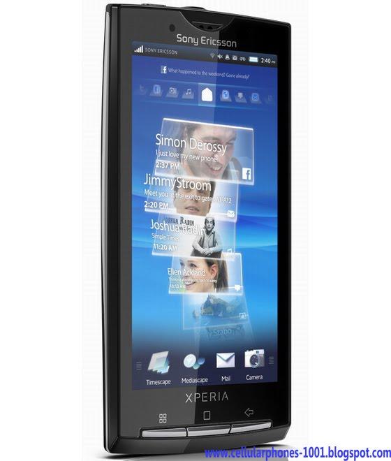Cellular Phones: Cellular Phones : Sony Ericsson Experia X10
