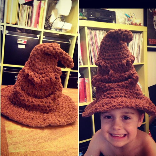 Harry Potter Sorting Hat! - Free Pattern