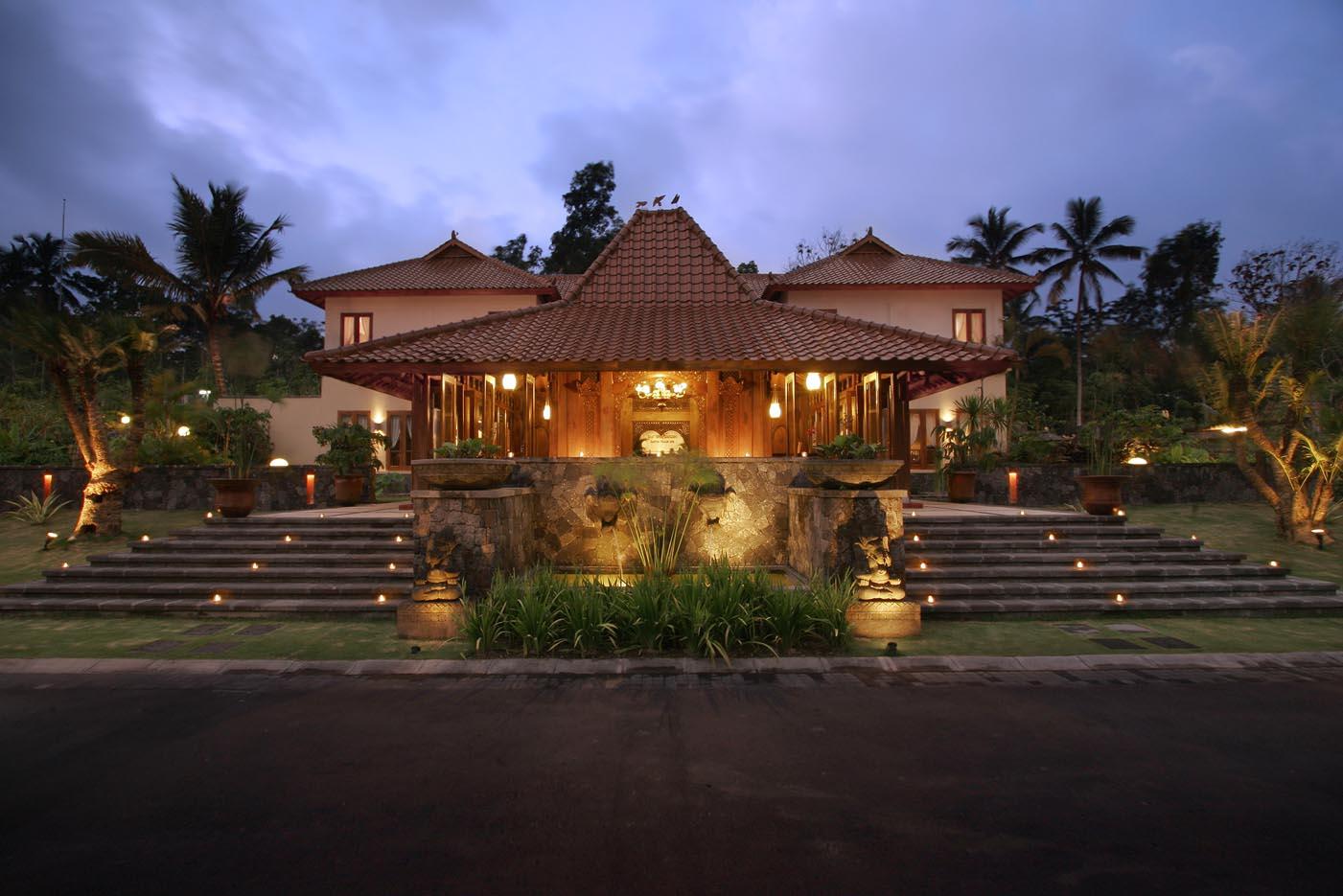 Octagonal Houses Budaya Indonesia Rumah Adat Joglo