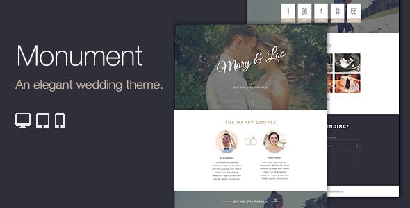Premium Responsive WordPress Wedding Theme