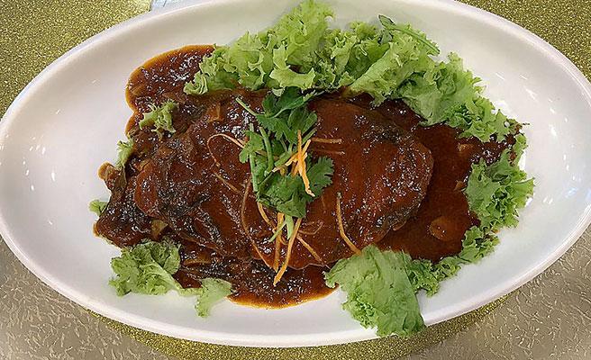 BBQ Vegetarian Fish
