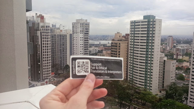 Curitiba, Parana, Brazil supports fair and ethical translators and interpreters