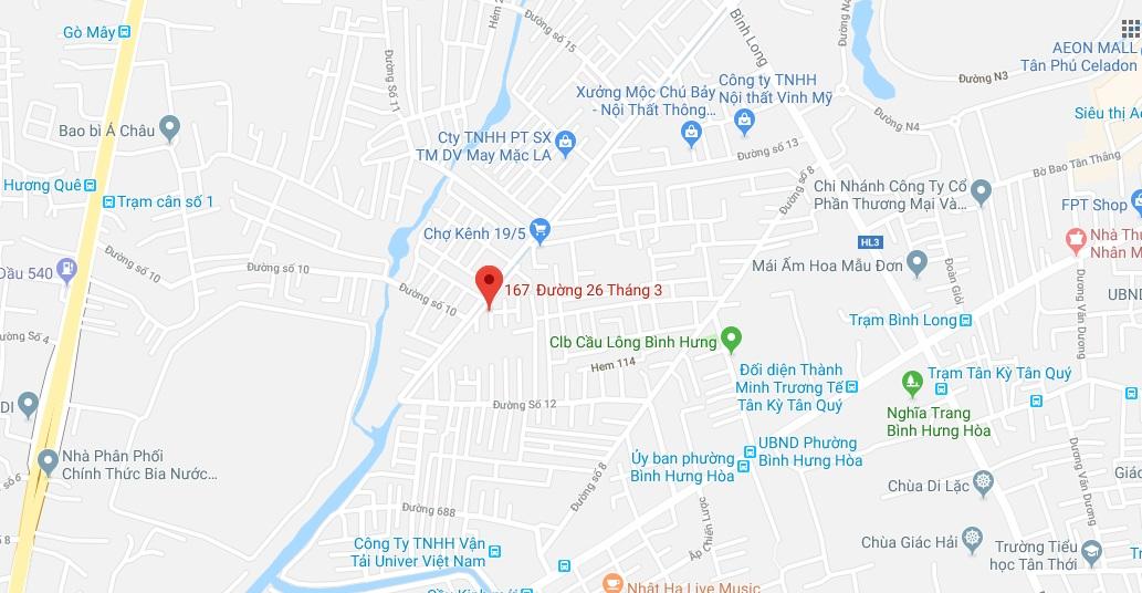 Bán nhà hẻm 6m đường 26 tháng 3 Bình Hưng Hòa quận Bình Tân