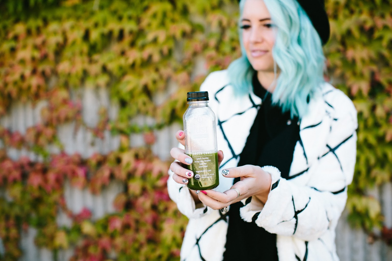 Juice Cleanse, Fur Jacket, Utah Fashion Blogger