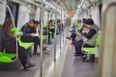Subways in China adopt London's book sharing campaign, but will it work?