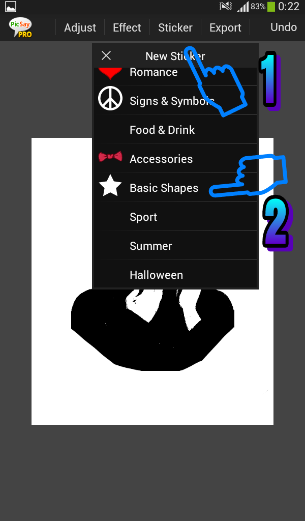 Cara Edit Foto Face Color Keren Banget di Picsay pro Android