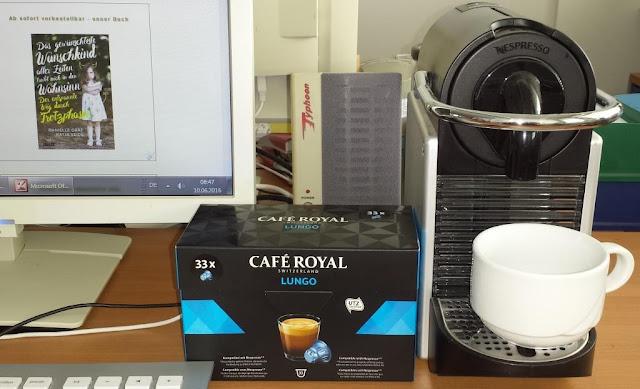 Café Royal Lungo am Arbeitsplatz