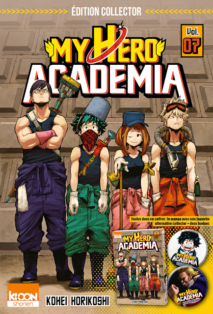 My Hero Academia, Actu Manga, Manga, Ki-oon,