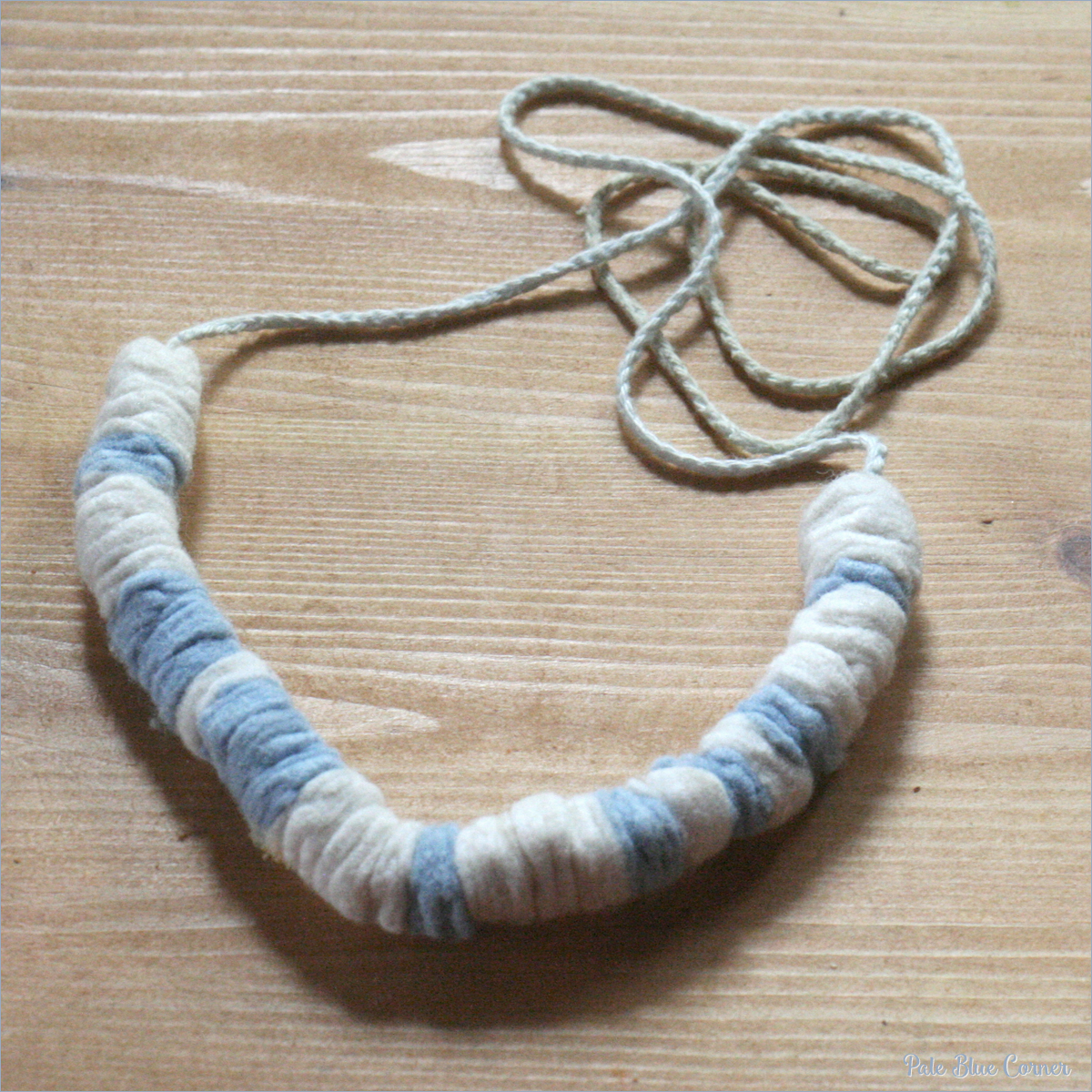 Felt Scraps Neckleces