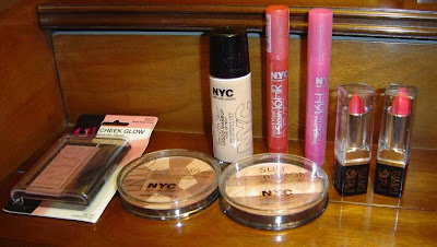 NYC New York Color Cosmetics 8 products.jpeg
