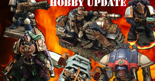 Hobby update 30/5/17 - slaves, slaves everywhere, but still nothing actually finished!