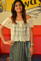 Eesha in a cute deep neck top and Skirt at at Big FM 071.JPG